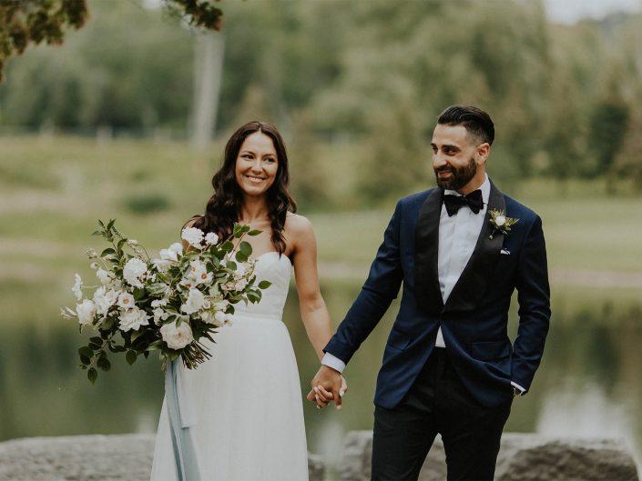 Romantic Rainy Day Wedding