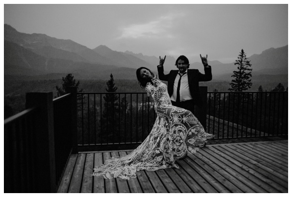 mountain top wedding bows and lavender photography fernie bc wedding