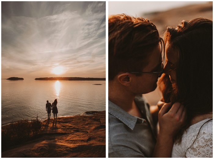 kill bear sunset adventure engagement photography couples adventure session bows and lavender wedding photography toronto photographer