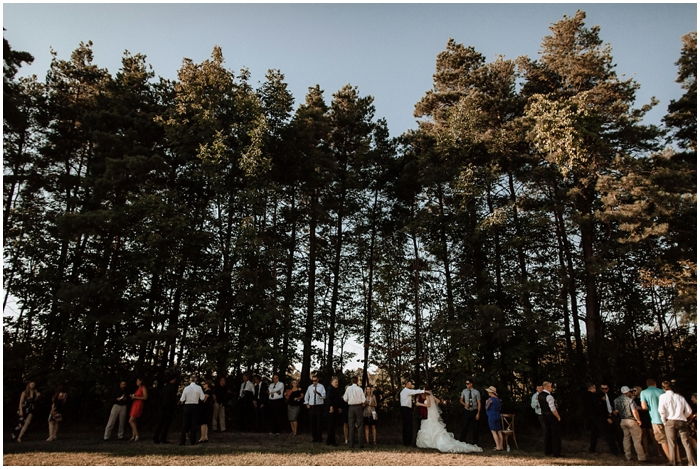 bows and lavender backyard farm wedding toronto wedding photographer