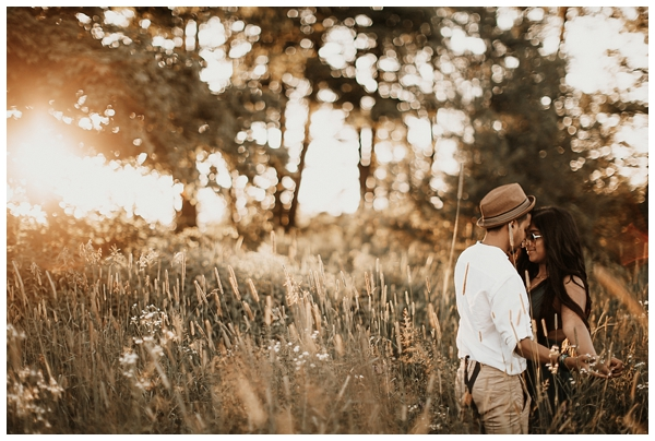 caledon ontario engagement photography bows and lavender