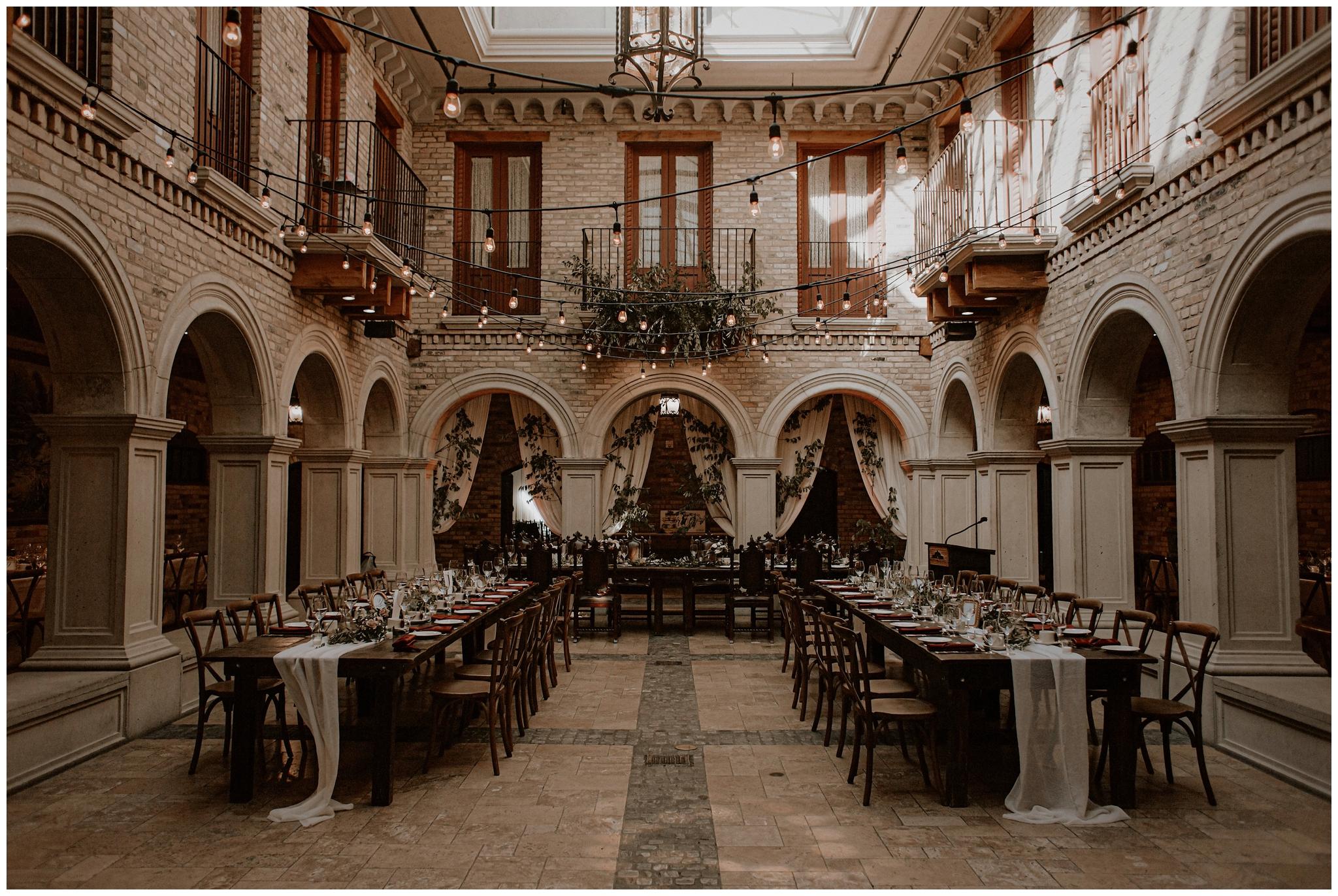 hacienda sarria wedding bows and lavender